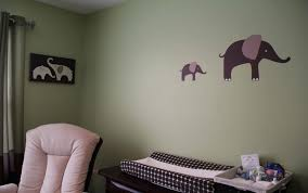 Pink And Green Nursery Decor Decorating Ideas Cool Image Of Decorative Baby Nursery Room