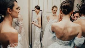 s bridal reformation s new dress collection is for winter weddings
