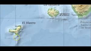 Canary Islands Map Canary Islands Volcano Report Tenerife Lanzarote La Palma El