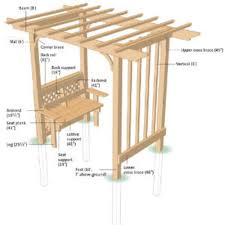 catchy collections of building a arbor trellis how to build a
