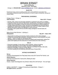 exles of resumes how to write a professional profile resume genius it exles labo