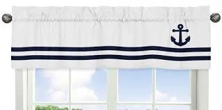 Nautical Valance Curtains Nautical Valance Curtain