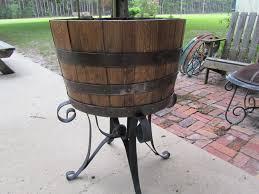 Whiskey Barrel Kitchen Table Whiskey Barrel Wood Barrel Whiskey Barrel Furniture Barrel