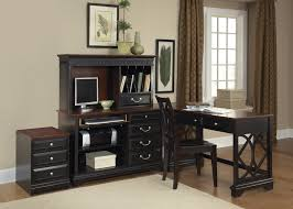 l shaped desk with hutch home painting ideas