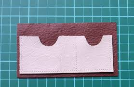 How To Make Punch Cards - how to make a leather wallet thecraftycouple
