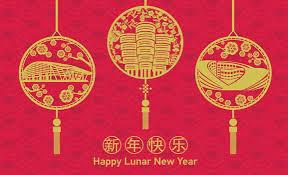 lunar new year cards lunar new year card 2018