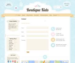 boutique kids creative wordpress theme by dtbaker themeforest