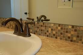bathroom tile backsplash ideas glass tile backsplash in bathroom 2596