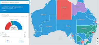 map of austrailia maps mania australia election maps