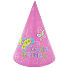 happy birthday hat bulk happy birthday butterfly party hats 8 ct packs at