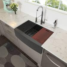 bowl kitchen sink for 30 inch cabinet juntoso 30 inch farmhouse sink ledge workstation single