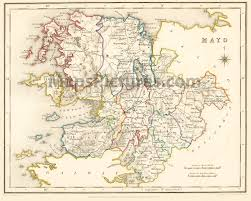 Dublin Ireland Map Maps And Pictures County Maps Of Ireland From 1837