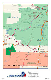 Dolores Colorado Map by Usa Pro Cycling Challenge 2012 Route Released West Elk