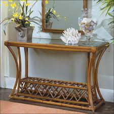 Rattan Console Table Narrow Rattan Console Table Console Tables Ideas