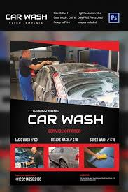 auto detailing flyer template auto detailing flyer ad template
