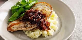 comment cuisiner des escalopes de poulet escalope de poulet aux oignons caramélisés facile et pas cher