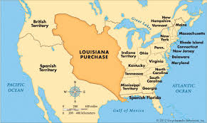 usa map louisiana purchase louisiana purchase history facts map britannica