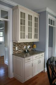 Glass Cabinet Kitchen 15 Best Lace Curtains Inside Cabinets Images On Pinterest Glass
