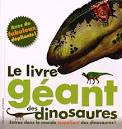 """Afficher """"Le Livre géant des dinosaures"""""""