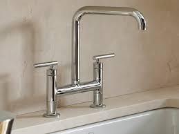 kitchen faucet canada marvelous kohler canada purist deck mount bridge kitchen faucet