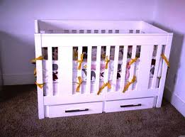 Mini Crib With Storage Mini Cribs With Storage Nursery Ideas Baby Cribs With Storage