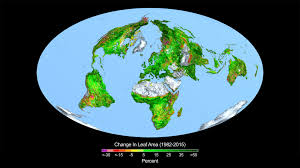 carbon dioxide fertilization greening earth study finds nasa