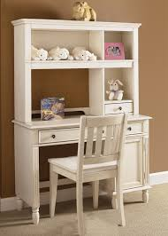 Student Desk With Hutch Daydreams Youth Student Desk Hutch In Antique White Finish With