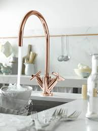 copper kitchen faucets dornbracht tara in cyprum gold finish so pretty