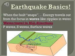 chapter 8 1 8 2 earthquake u2013 a vibration of the earth produced