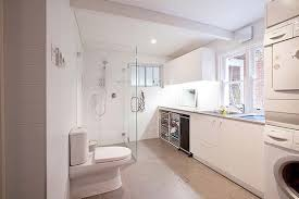 laundry bathroom ideas bathroom laundry room combo floor plans and this bright laundry