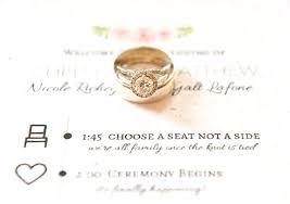 beautiful wedding programs how to make beautiful diy wedding program fans