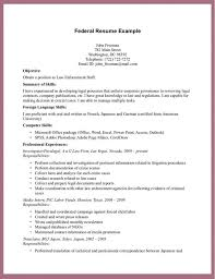 example of a federal resume lukex co