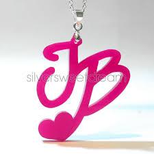 infinity love collana belieber justin bieber infinity love pendente ciondolo