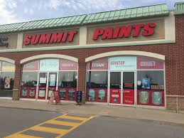 over 40 years of paint experience drop by summit paints to see