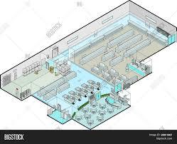 supermarket vector isometric vector u0026 photo bigstock