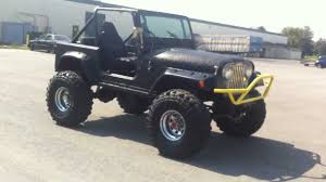 jeep wrangler bandit 1983 jeep cj7 4x4 lifted 38 5s 350 v8 must see youtube