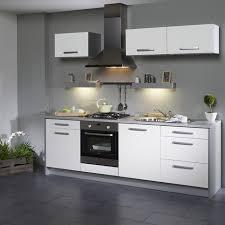 cuisine blanche et grise deco cuisine blanche mur gris idée de modèle de cuisine