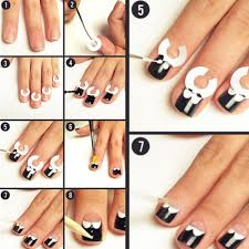18 sheets set french manicure diy nail art tips guides stickers