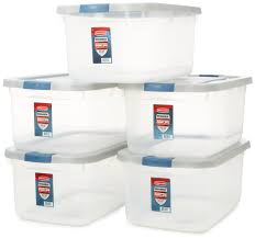 Strorage by Amazon Com Rubbermaid Roughneck Clear Storage Container 50 Qt