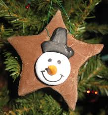 4 types of home made ornaments using decoupage dough clay