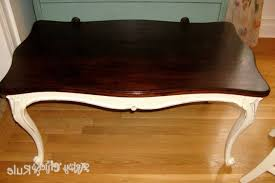 colored coffee tables old thrift store coffee table transformed with chalk paint with
