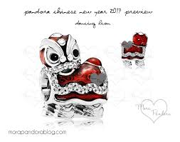 halloween pandora charms pandora chinese new year 2017 dancing lion pandora pinterest