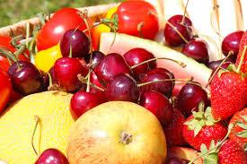 fruit basket fruit harvest stock image image of thanksgiving