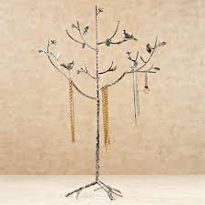 splendor cast metal jewelry tree holder stand