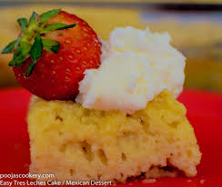 easy tres leches cake mexican dessert