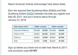 American Platinum Desk Airline Elite Status Match And Challenge Options For 2017