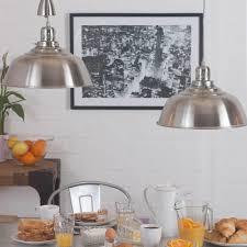 industrial kitchen lighting pendants fisherman rise and fall pendant light satin chrome from litecraft