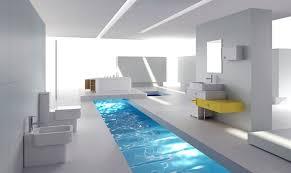 home interior design bathroom white minimalist bathroom interior design rendering 3d