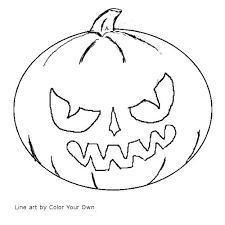 goosebumps coloring pages halloween samhain jack o lantern coloring page