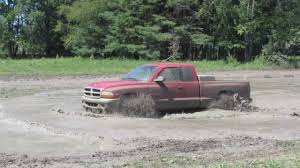 Lifted Dodge Dakota Truck - dodge dakota mudding at muddin the creek bog youtube